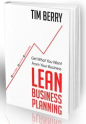 "The book ""Lean Business Planning"" cover."