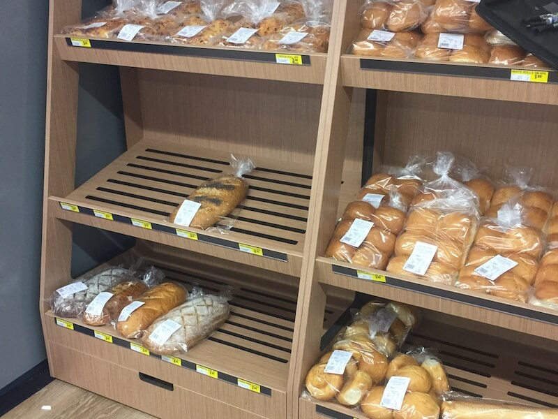 IGA Bakery Display Shelves