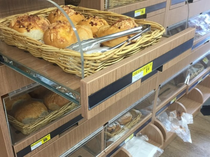 IGA Bread Display Unit