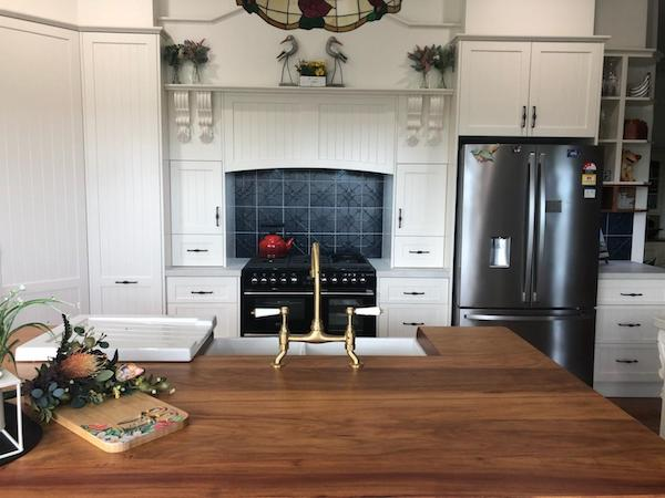 Country Style Kitchen or Hampton Style Kitchen crafted by Timbertown Kitchens