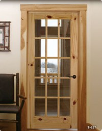Rustic French Doors | Timber Valley Millwork