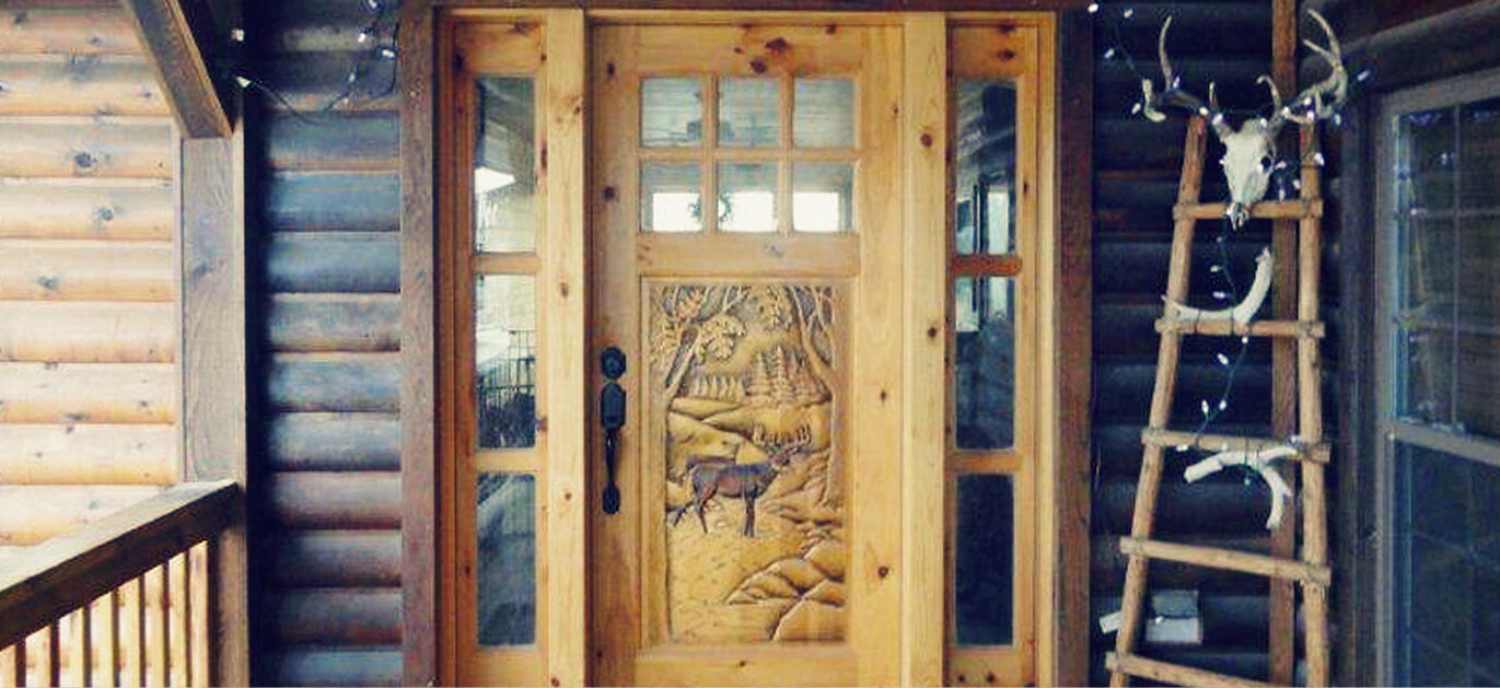 Custom Wood Doors And Cabinets For Rustic Homes And Cabins