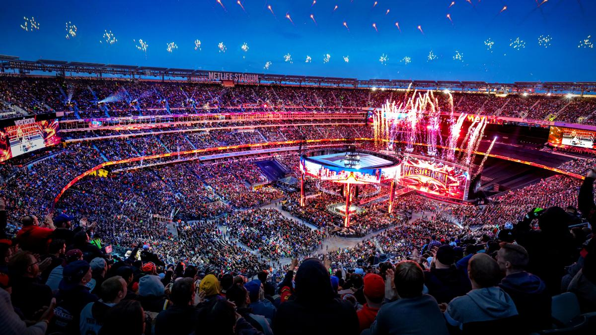 wrestlemania 35 arena