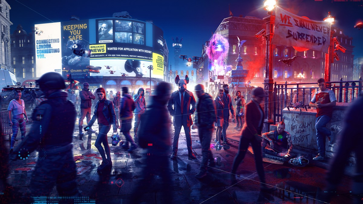 Watch Dogs Legion Screenshot Piccadilly