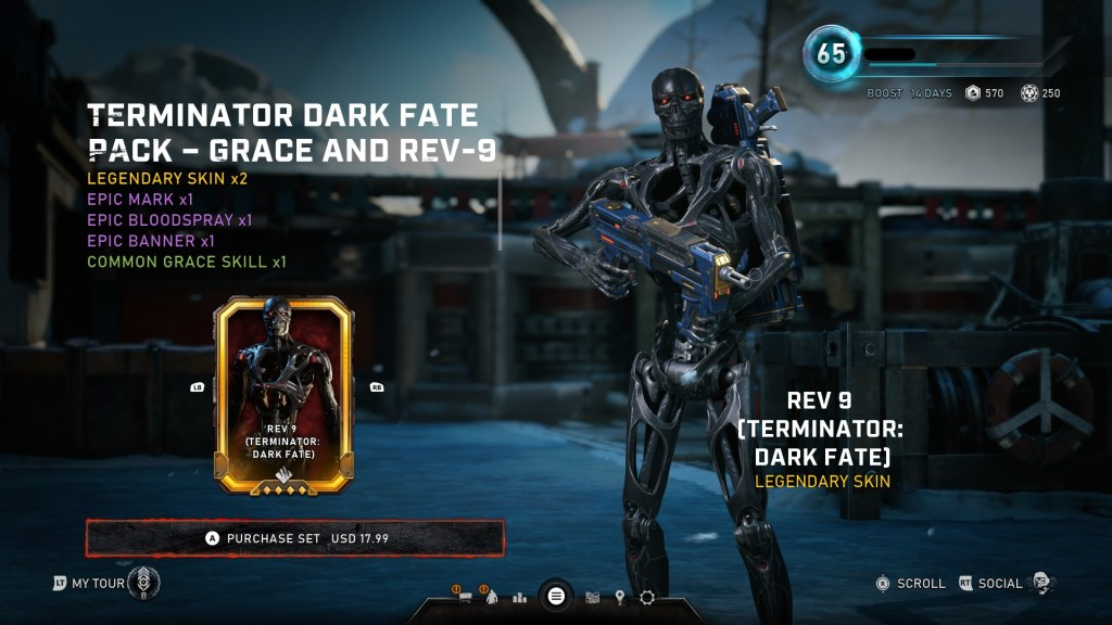 Gears 5 rev9 terminator pack2 store page