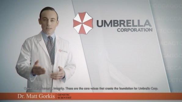 re3 remake umbrella intro