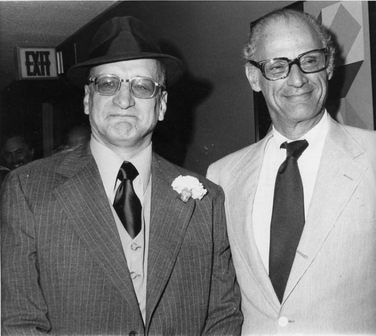 George C Scott, Arthur Miller