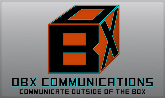 OBX Communications Box Logo Design