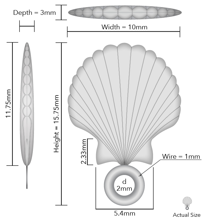 Seashell Jewelry Schematic