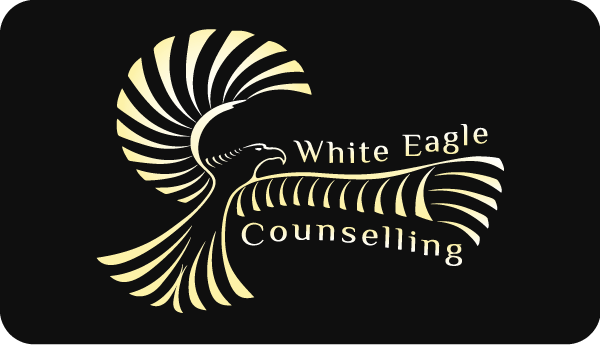 White Eagle Counseling Logo / Business Card Front