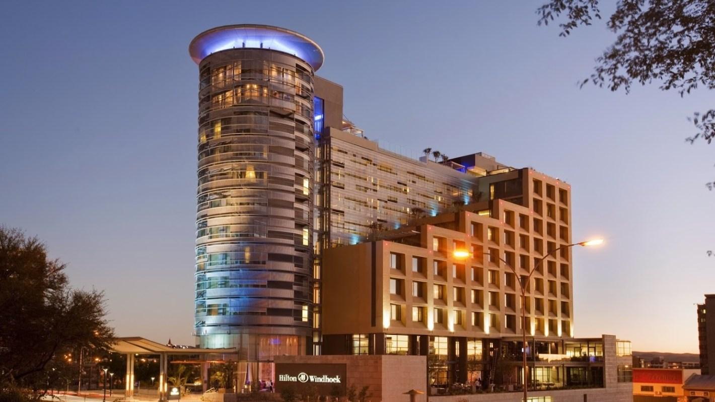 Hilton Hotel Windhoek Namibia Timbuktu Travel