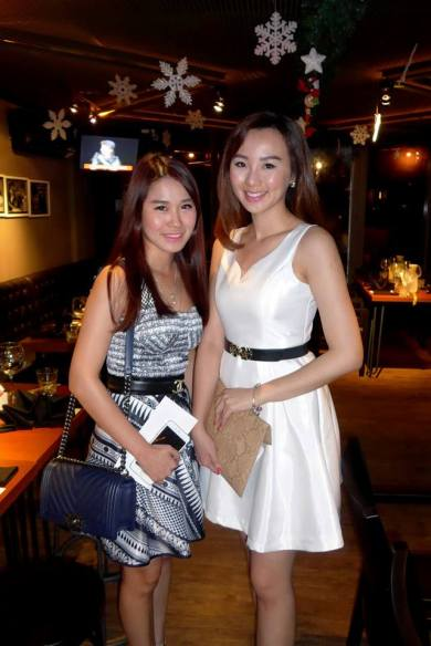 Kimberly Chu and Polly Yap