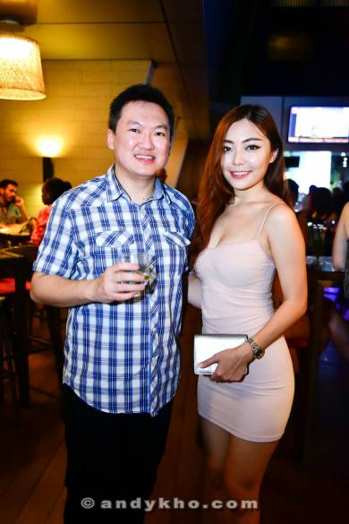 With Miss Tourism Malaysia Sherlyn Goh