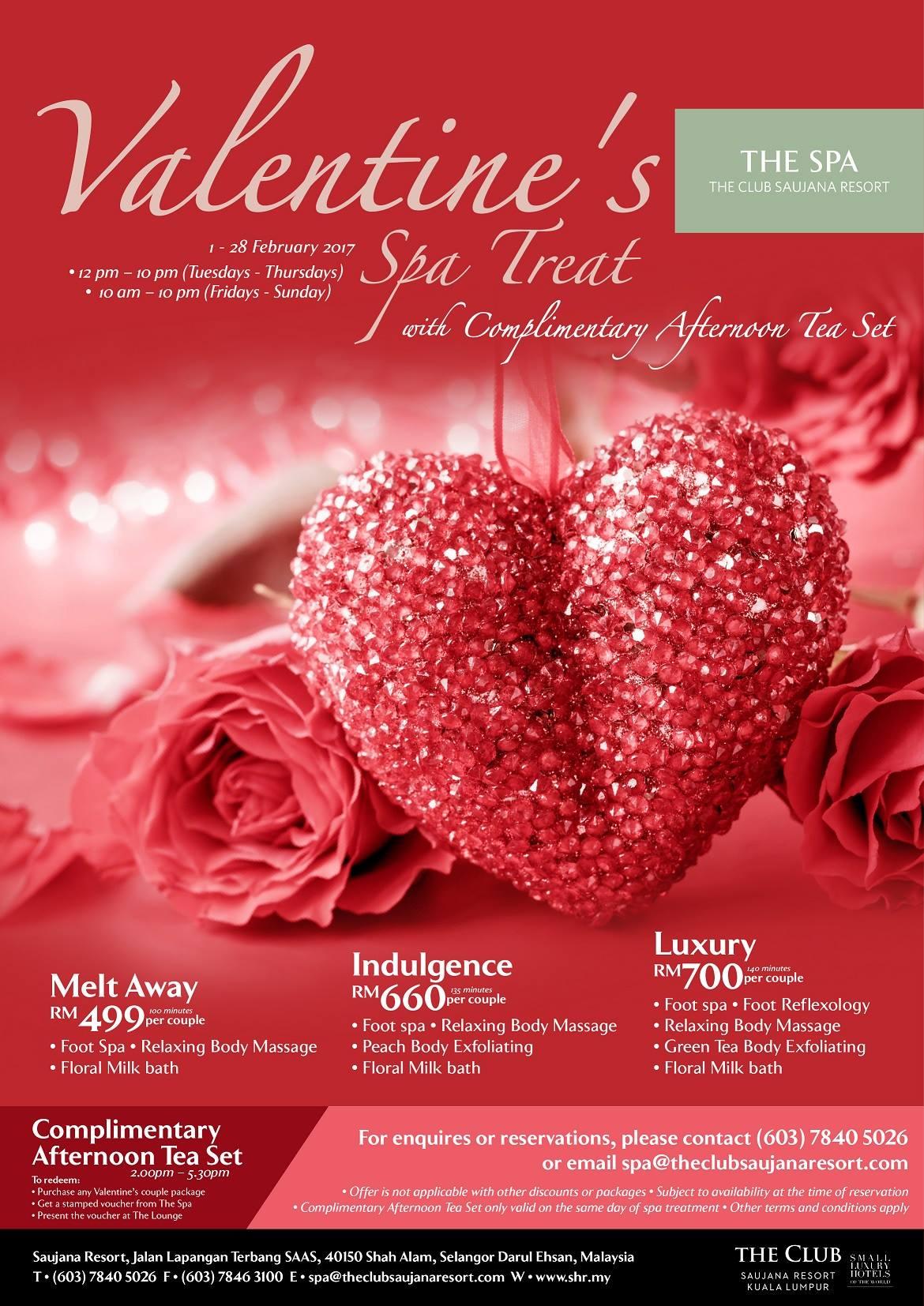 Valentines Day 2017 Romantic Dinners In Kuala Lumpur
