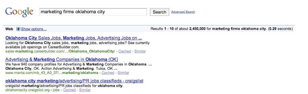 Marketing Firms Oklahoma City