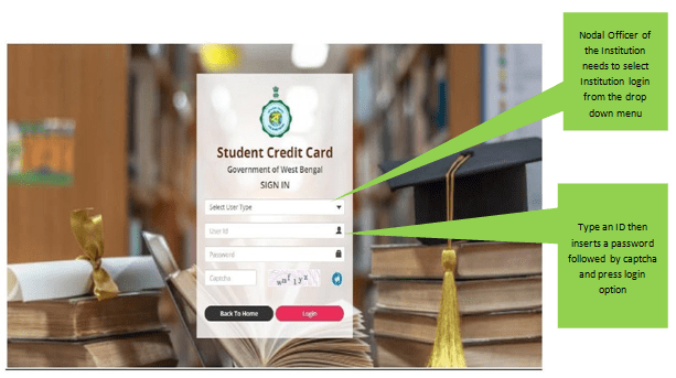 Apply for WB Student Credit Card Scheme 2021