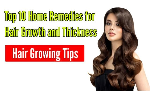 Indian Home Remedies for Hair Growth & Thickness