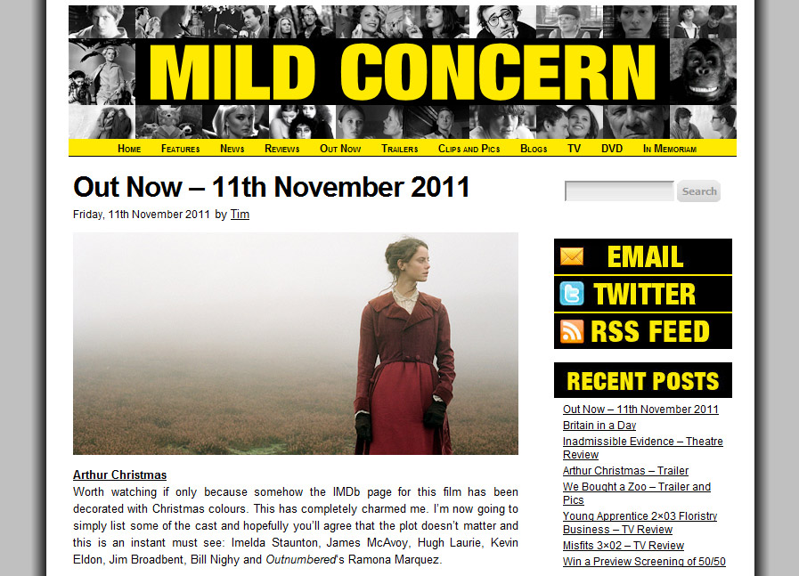 Mild Concern