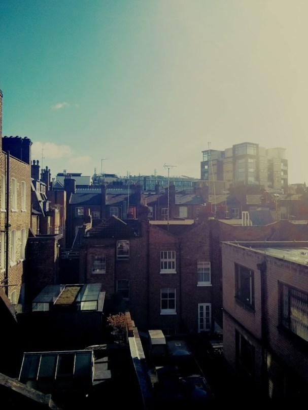 Day 78 The view from the office fire escape...