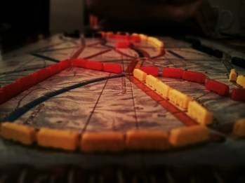 Day 133: Ticket to Ride and Dinner with two of my favourite people