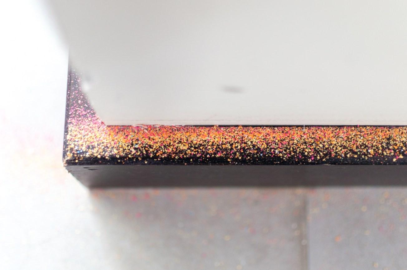 A bit of chalk dust
