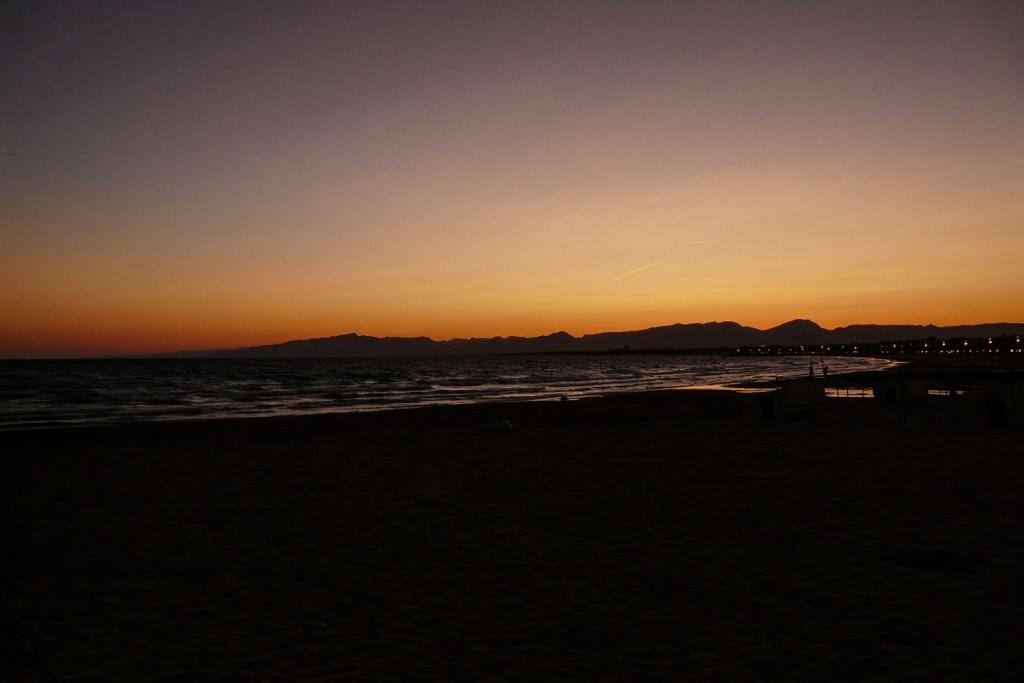Barcelona sunset