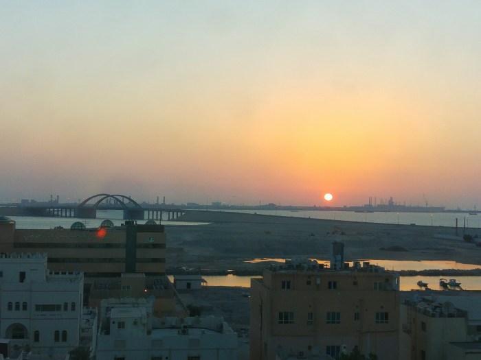 Bahrain sunrise