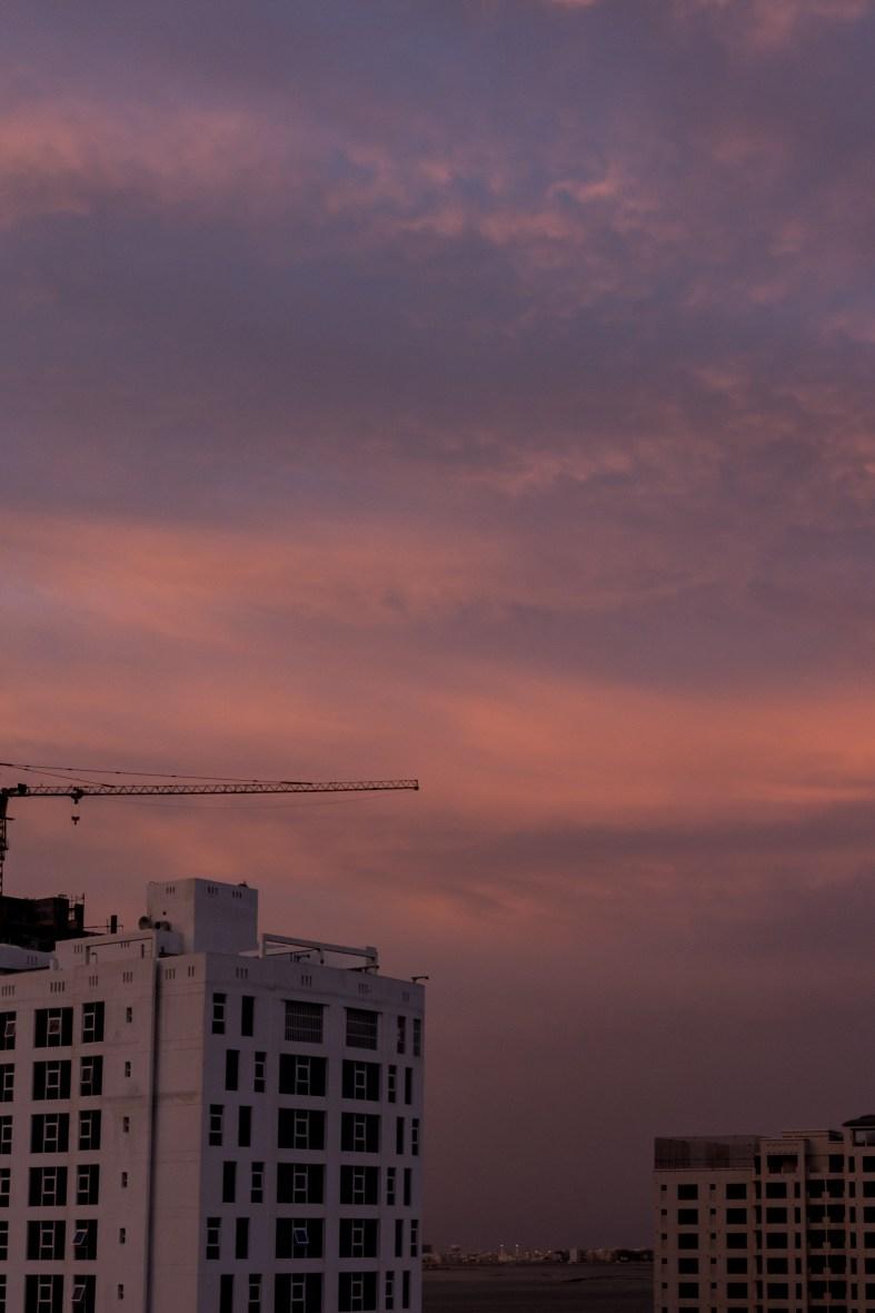 Sunset in Bahrain