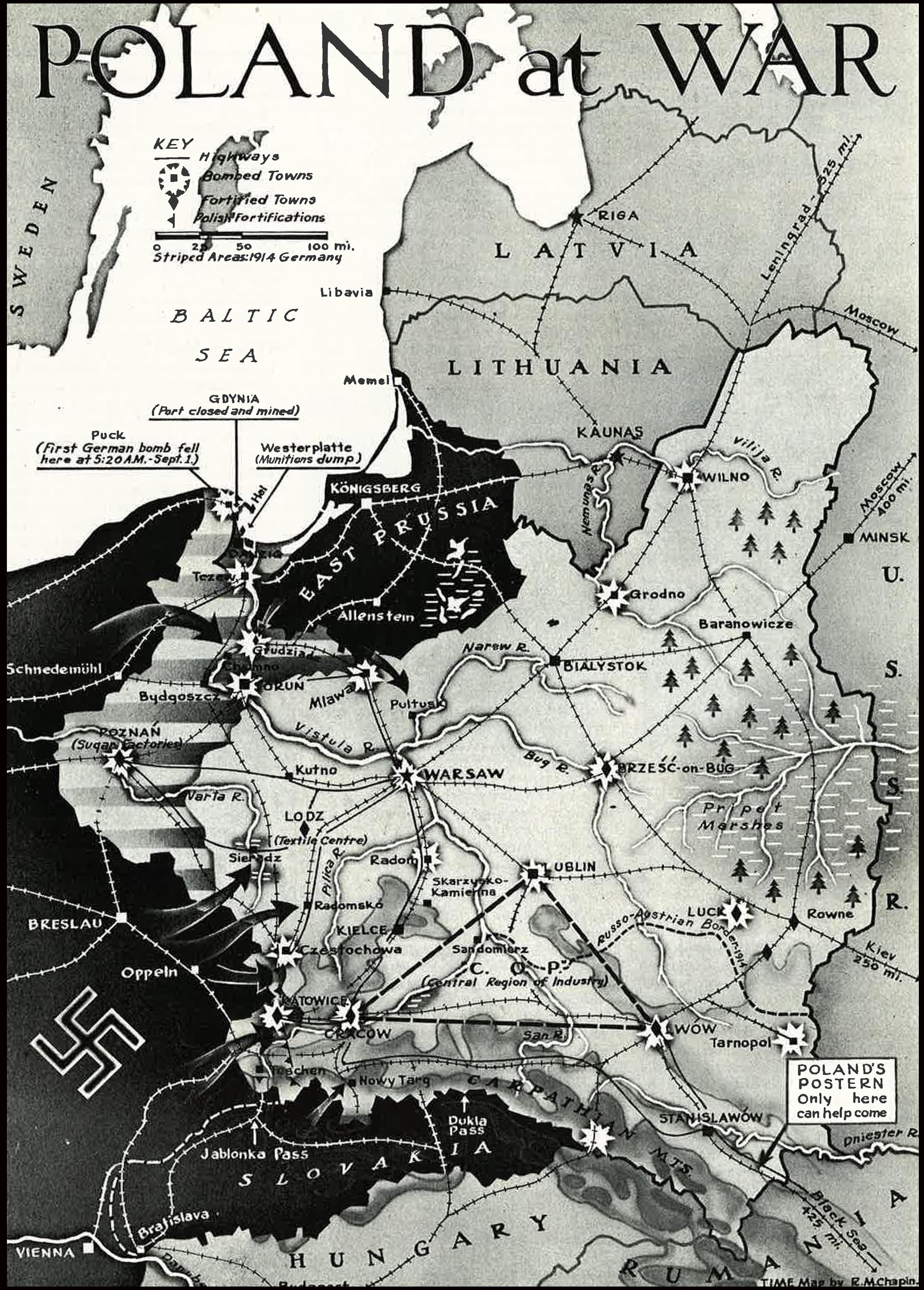 World War Ii Beginning Germany Invades Poland