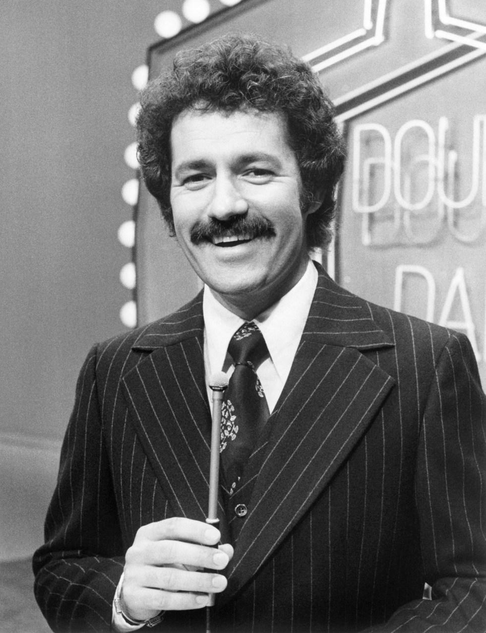 Double Dare host Alex Trebek, 1976-77