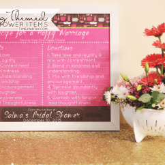 Kitchen Themed Bridal Shower Cabinet Layout Cooking Items Time2partay