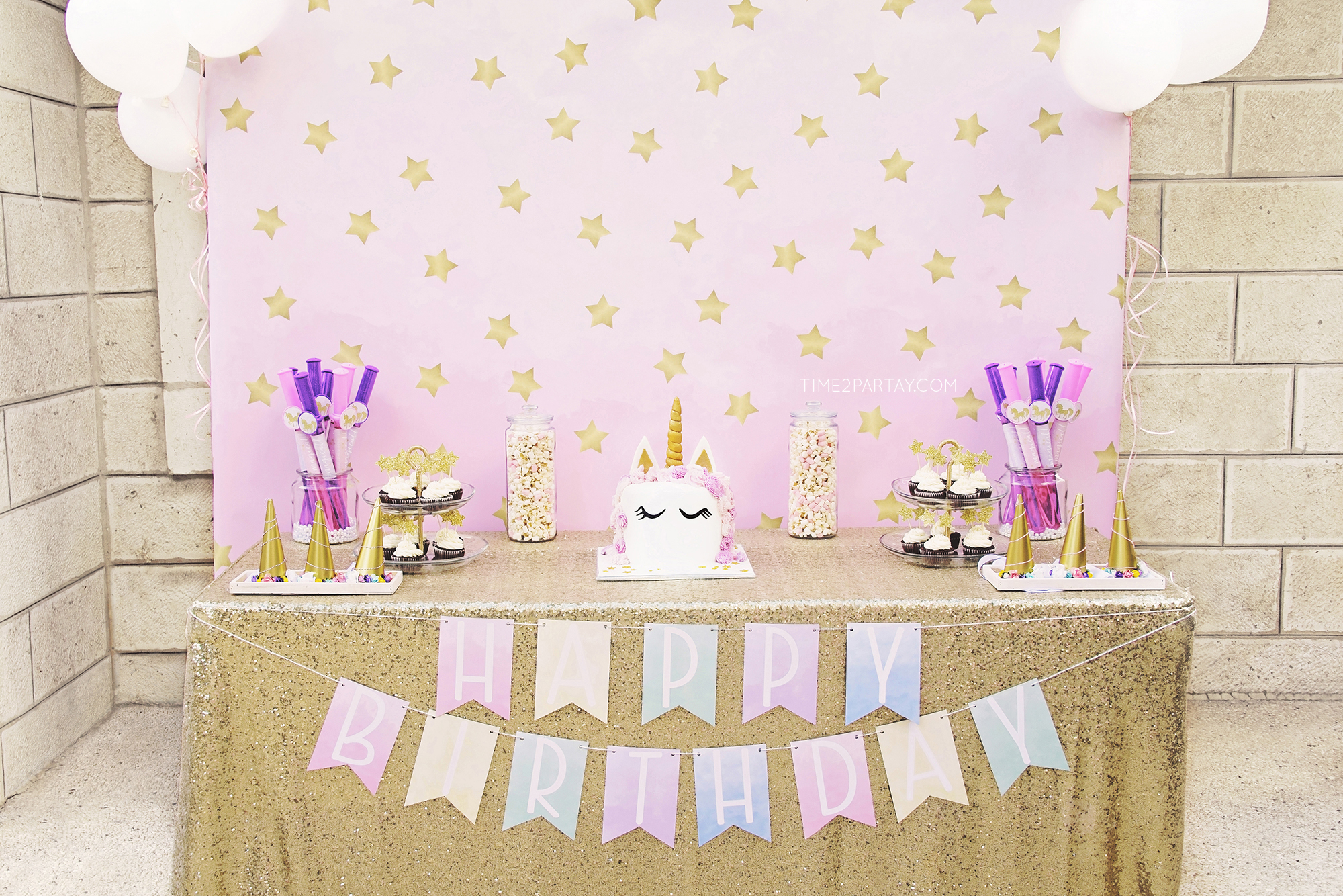A Unicorn Themed Birthday Party Time2partay Com