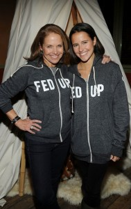 Katie Couric and her daughter Ellie. (2014)