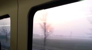 Trip on a train