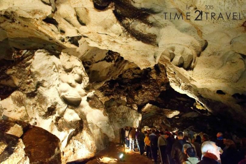 Триумфалната зала в пещера Магурата