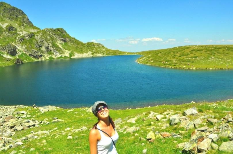 Езерото Бъбрека, част от Седемте Рилски езера