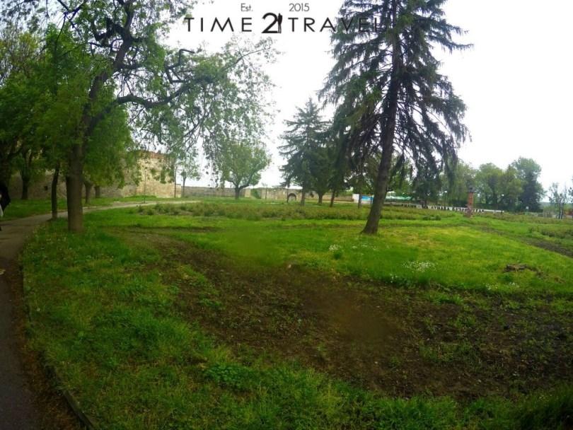 Градината до крепостта Баба Вида