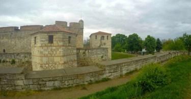 Крепост Баба Вида е разположен на брега на река Дунав.