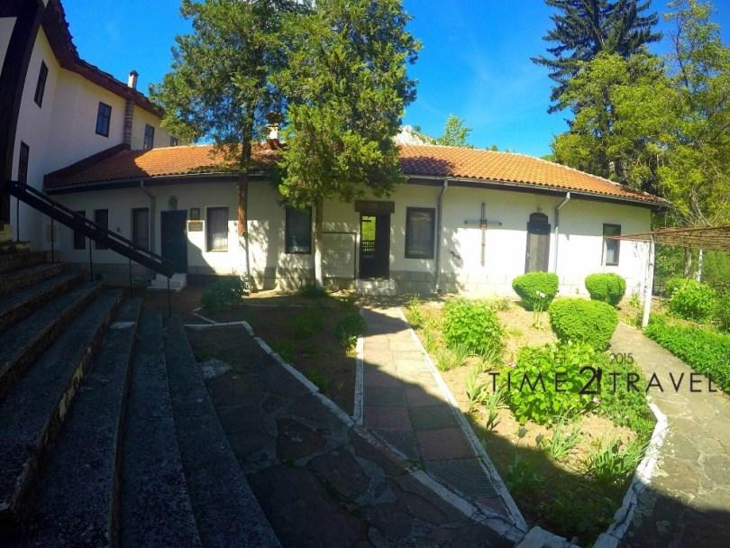 Мястото, на което е отсядъл Иван Вазов