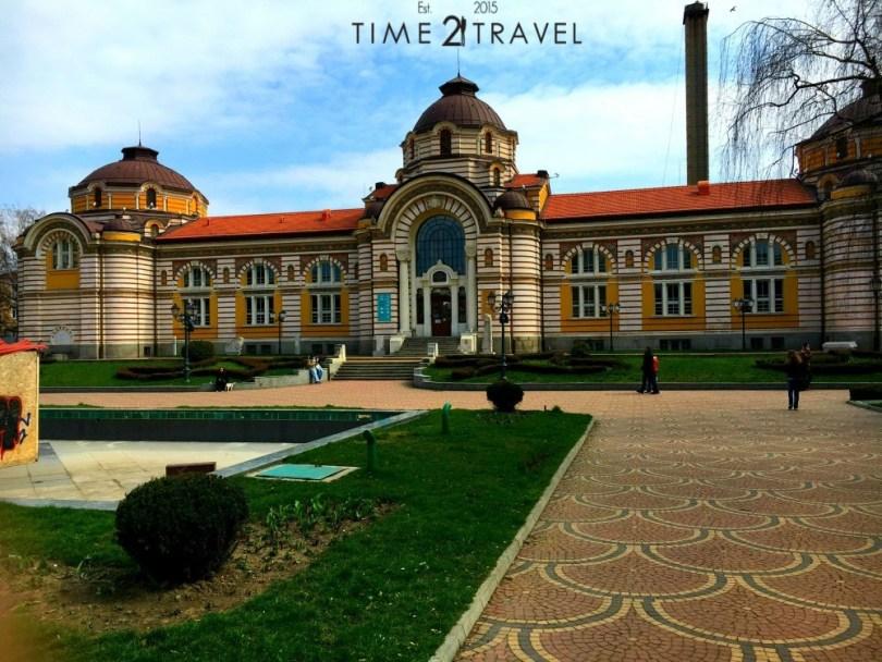 Сградата на минералната баня в София