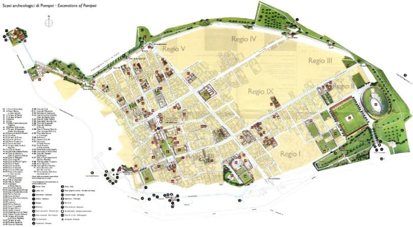 Помпей Карта
