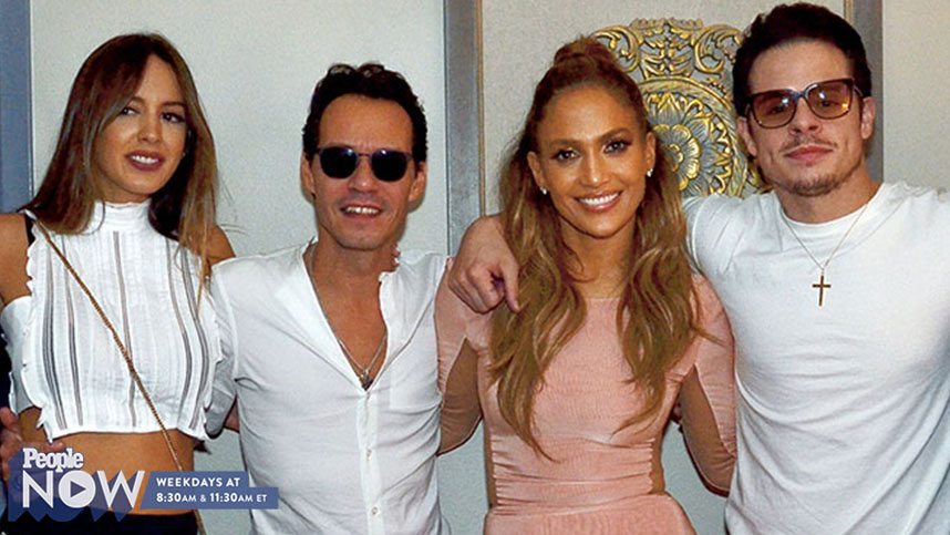 Incredible! Jennifer Lopez's Exes Marc Anthony And Casper Smart Have Nothing But 'All Love' For Each Other