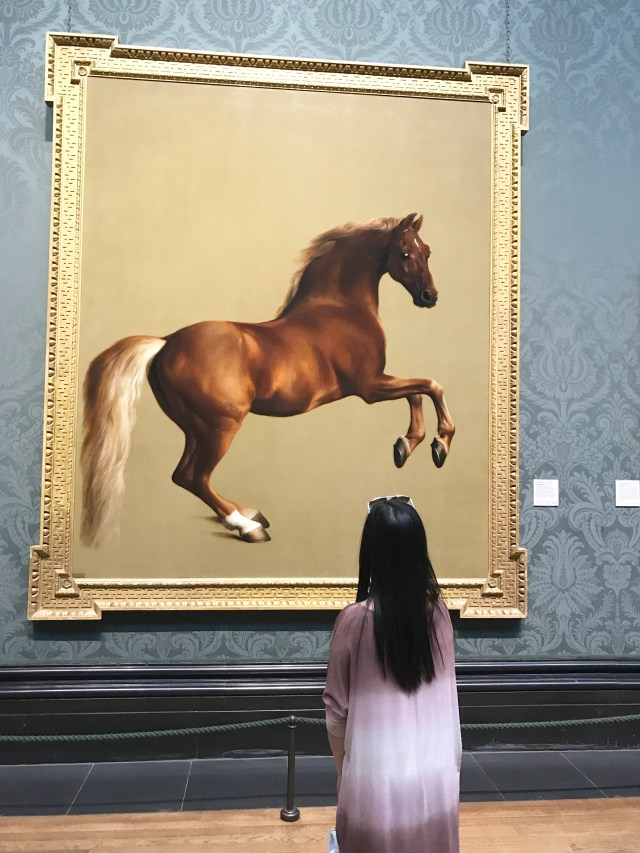 National Gallery, art, painting, Whistlejacket, George Stubb