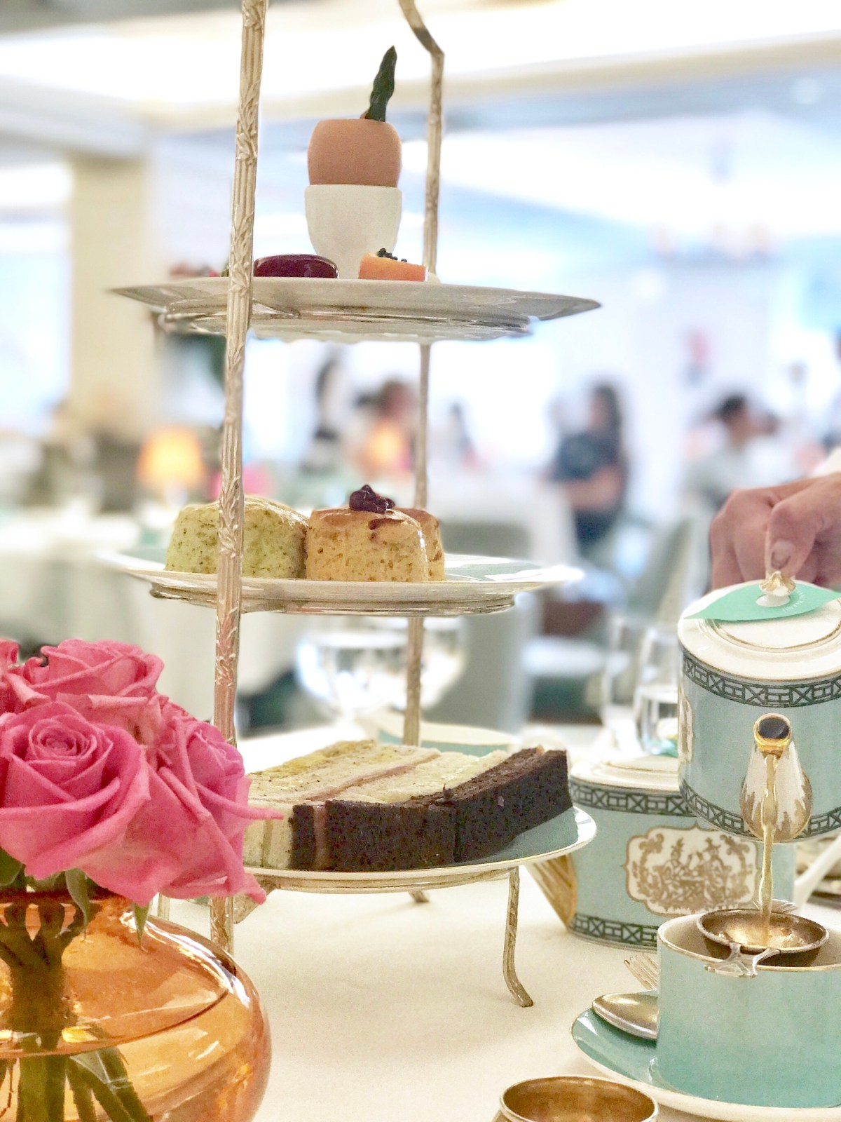 Fortnum and Mason, afternoon tea, british, london