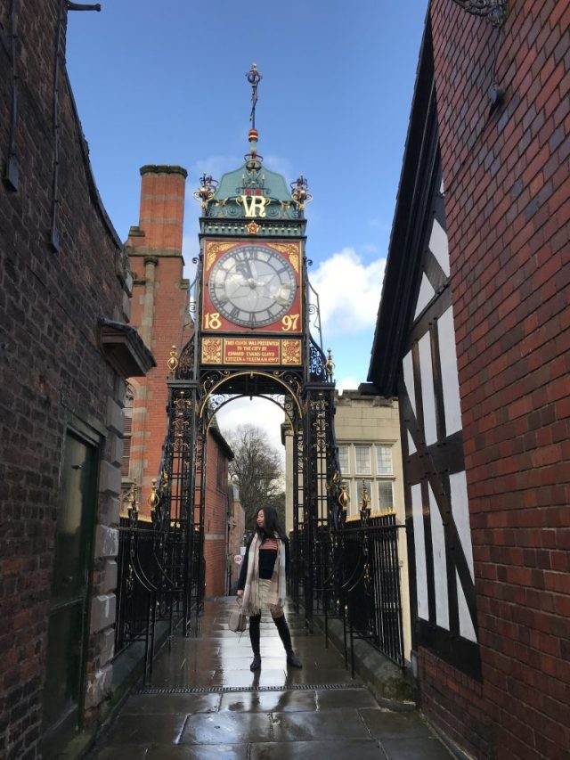 Eastgate Clock Chester Cheshire