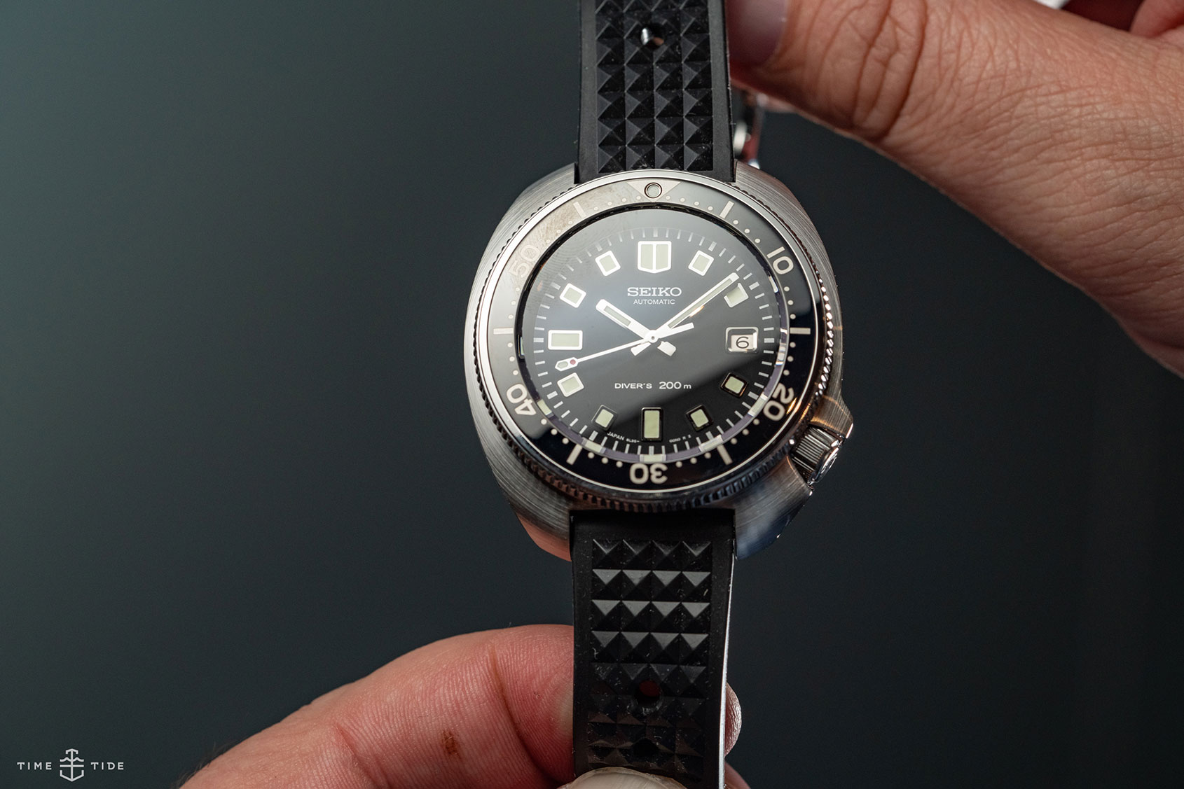 HANDS-ON: The Seiko Diver's Re-creation Limited Edition SLA033 | Time and Tide Watches