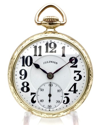 21 Jewel Illinois Bunn Special Pocket Watch
