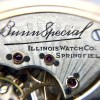 21 Jewel Illinois Bunn Special Pocket Watch Illinois Watch Co. Springfield