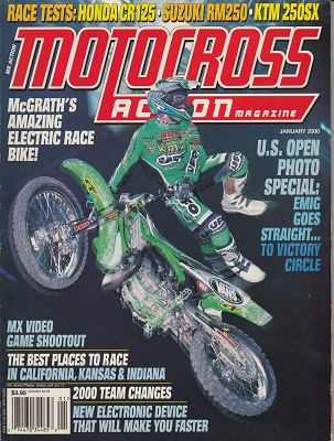 MOTOCROSS ACTION - Time Capsule Magazines