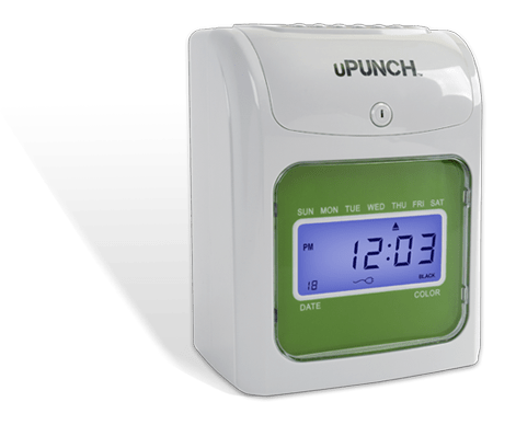 punch time clock/upunch hn3000/time clock bundle